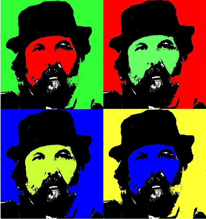 Vic Giannini in quattro immagini colorate