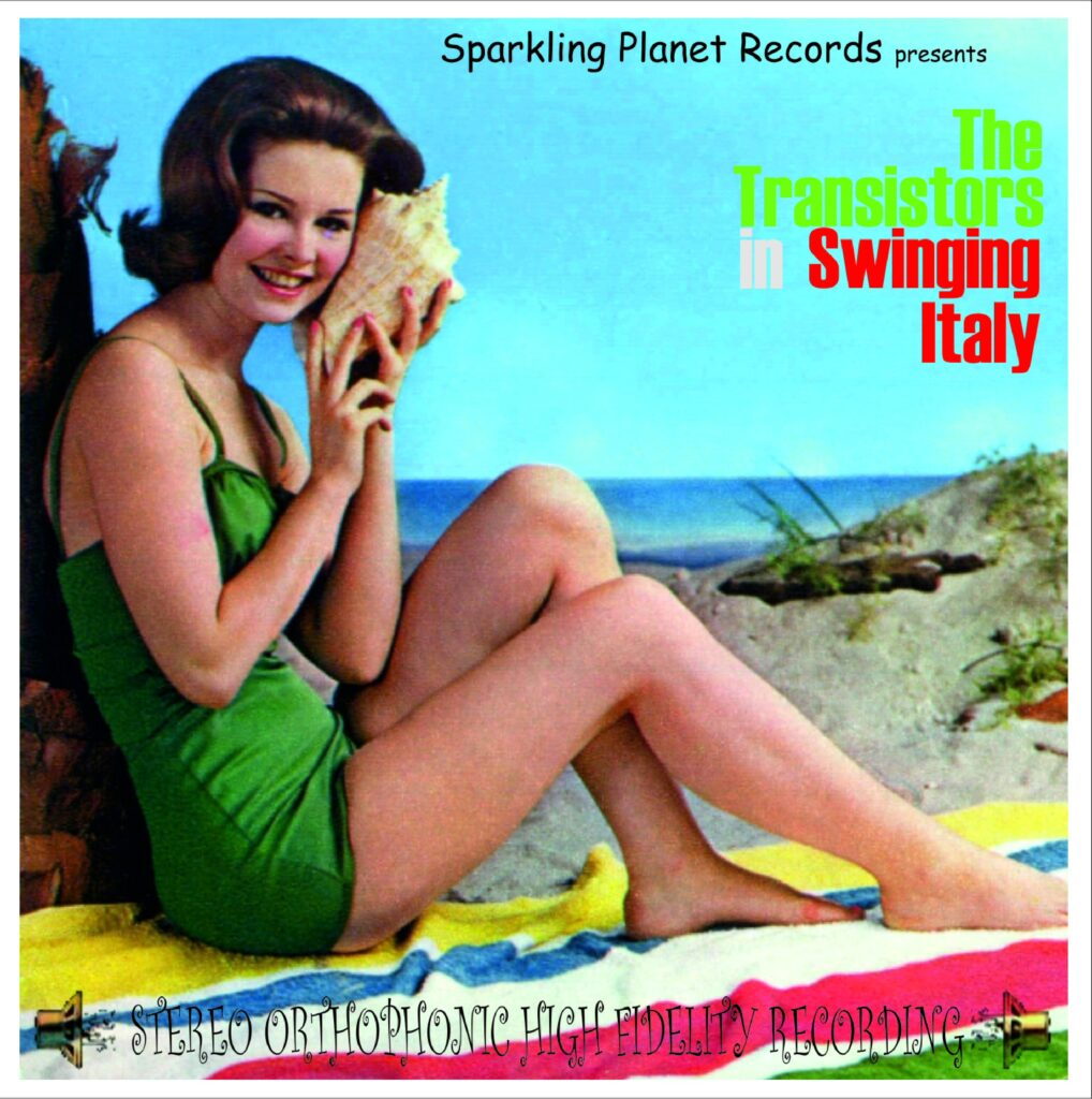 Copertina del CD Swinging Italy dei The Transistor