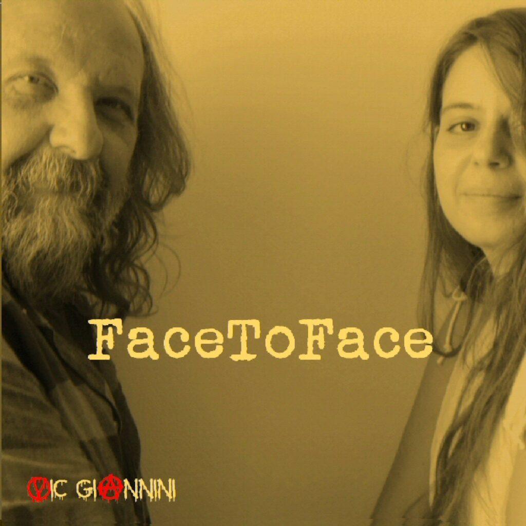 Copertina del CD FaceToFace di Vic Giannini