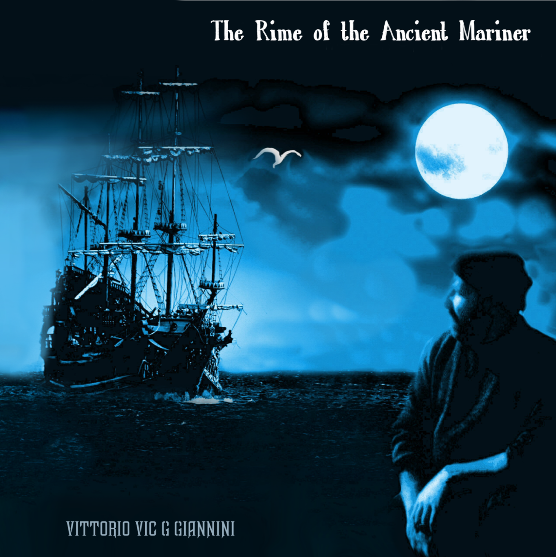 Copertina del CD The Rime of the Ancient Mariner di Vic Giannini